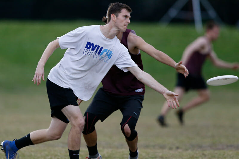 Brigham Young's Jordan Kerr at Florida Warm Up 2020. Photo: William 'Brody' Brotman -- UltiPhotos.com