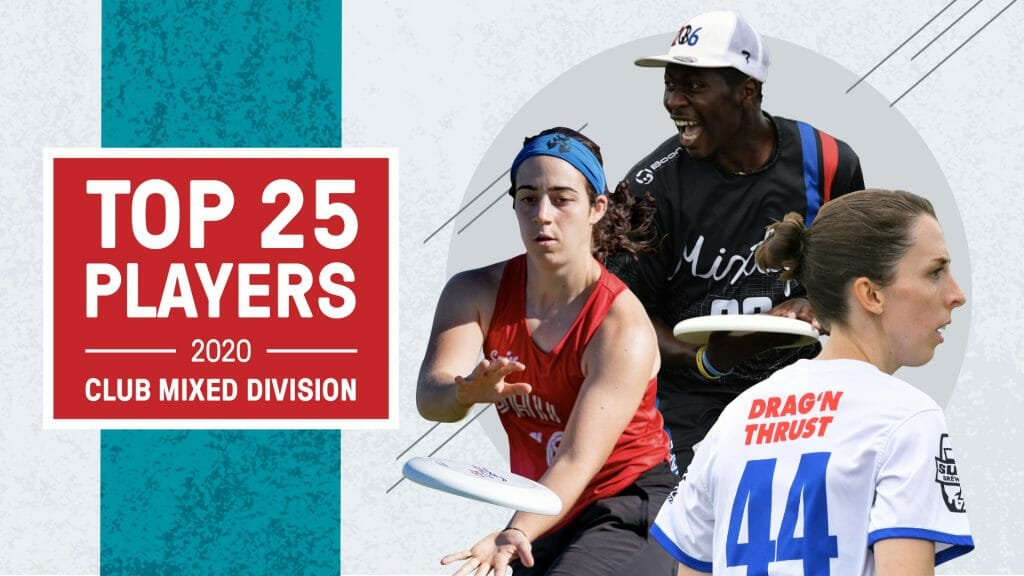 Anna Thompson (left), Khalif El-Salaam (middle), and Sarah Meckstroth (right) are top players in the mixed division.