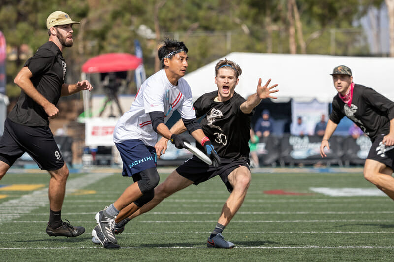 2019 finalists Seattle Sockeye and Chicago Machine enter 2021 again among the favorites to challenge for a club men's title. Photo: Rodney Chen -- UltiPhotos.com