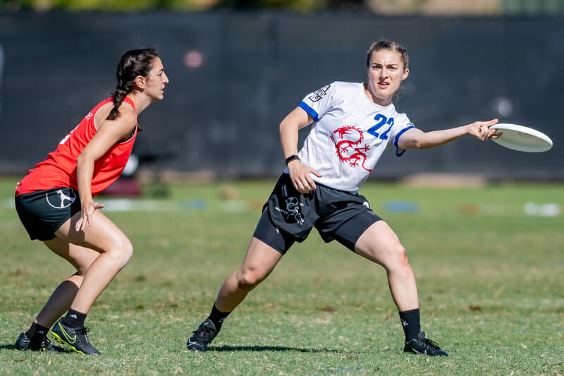 Kat Ritzmann is back as a captain for Drag'n Thrust in 2021. Photo: Sam Hotaling -- UltiPhotos.com