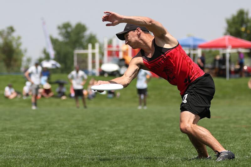 Fort Collins shame.'s Nick Lance pulling at the Pro-Elite Challenge 2021. Photo: Ken Furman -- UltiPhotos.com