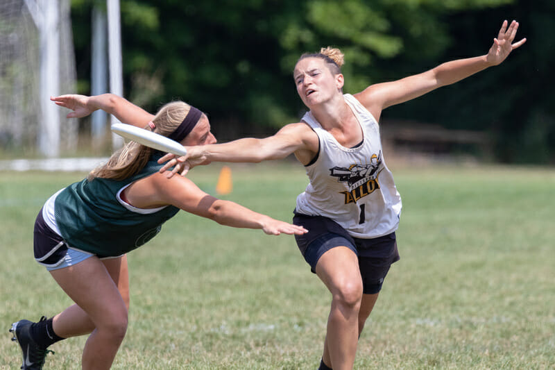 Alloy's Christy Lawry at the USA Ultimate 2019 Select Flight Invite.