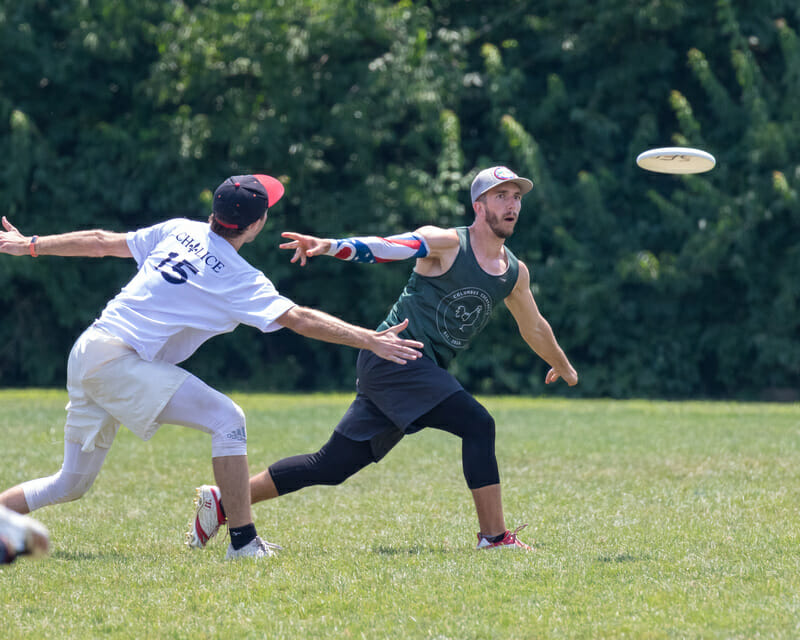 Columbus Cocktails and St. Louis Chalice met in the final of the 2019 Select Flight Invite. Photo: Kevn Wayner -- UltiPhotos.com