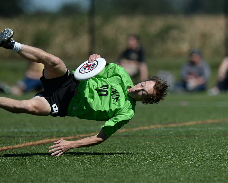 Things turned for Virginia VAult, but for the better. Photo: Kevin Leclaire — UltiPhotos.com